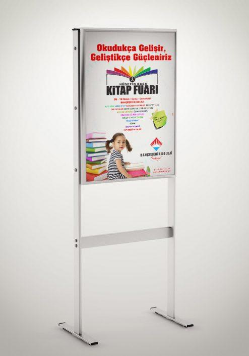 Kitap Fuarı Tanıtım Kampanyası - Bahçeşehir Koleji Alanya