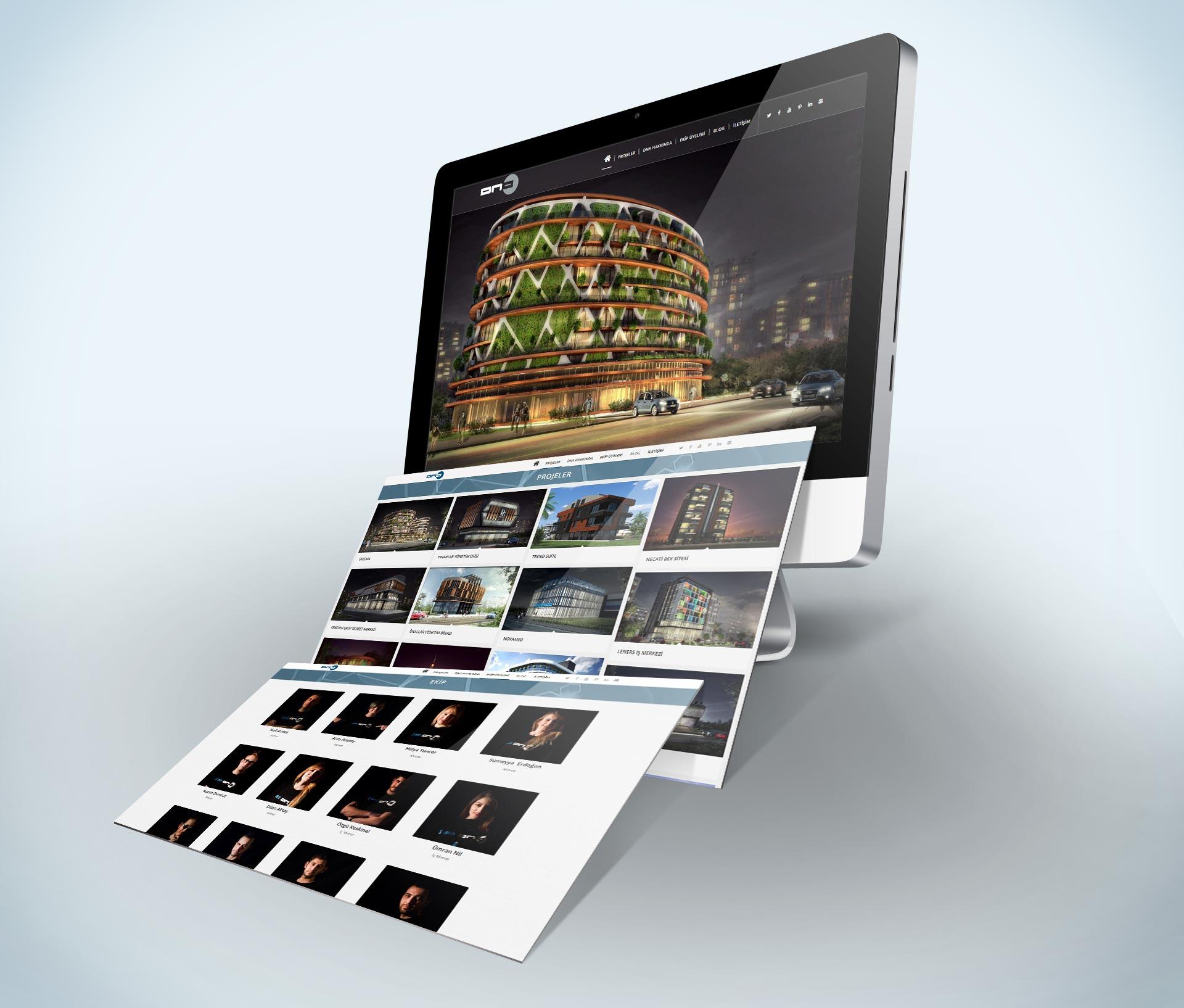 Mimar Web Siteleri | DNA Mimarlık - Mimar Nail Atasoy Antalya