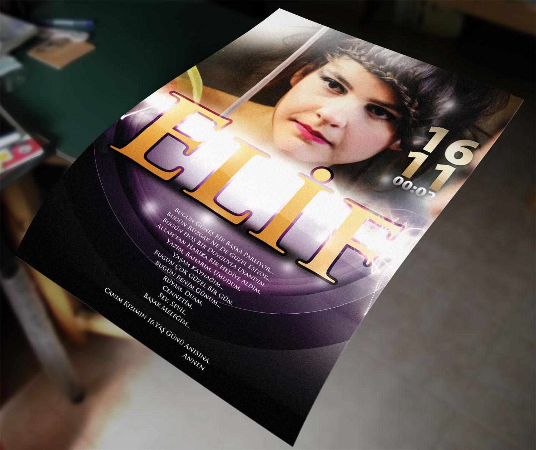 Doğum Günü Filmi ve Poster - Elif Kazak