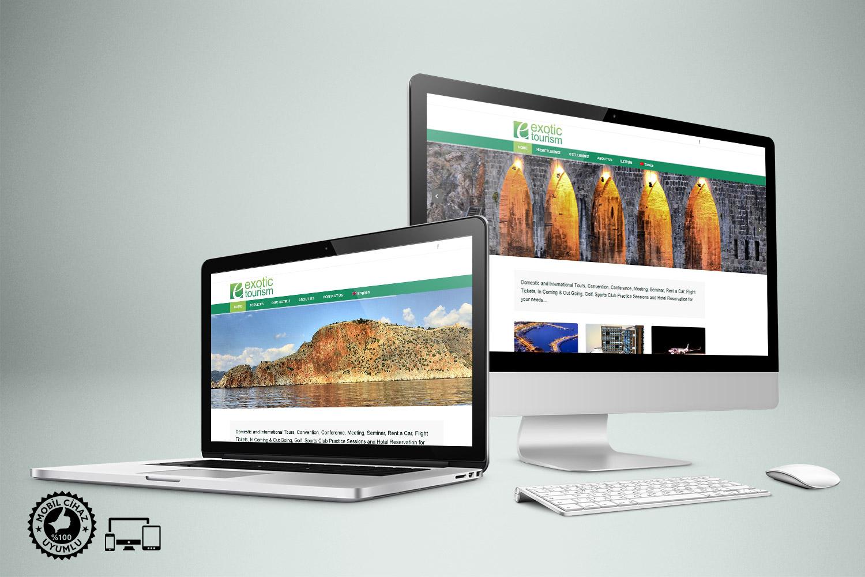 Turizm Acentesi Web Sitesi - Exotic Tourism