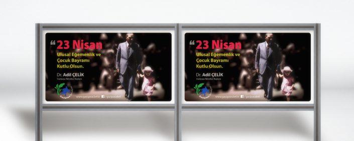 23 Nisan Mesajı - Gazipaşa Belediyesi Dr. Adil Çelik