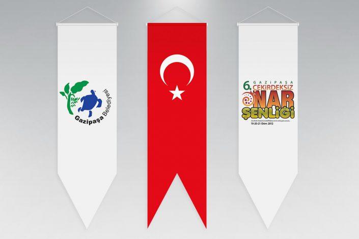 Kırlangıç Bayrak - Gazipaşa Belediyesi