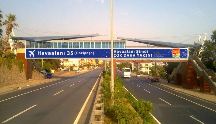 Gazipaşa Havaalanı Tanıtım Kampanyası
