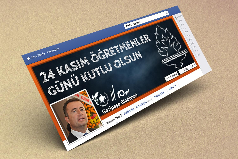 24 Kasım Öğretmenler Günü Mesajı - Gazipaşa Belediyesi