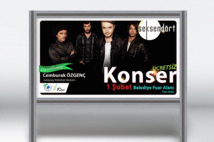 Billboard Afişi - Gazipaşa Belediyesi