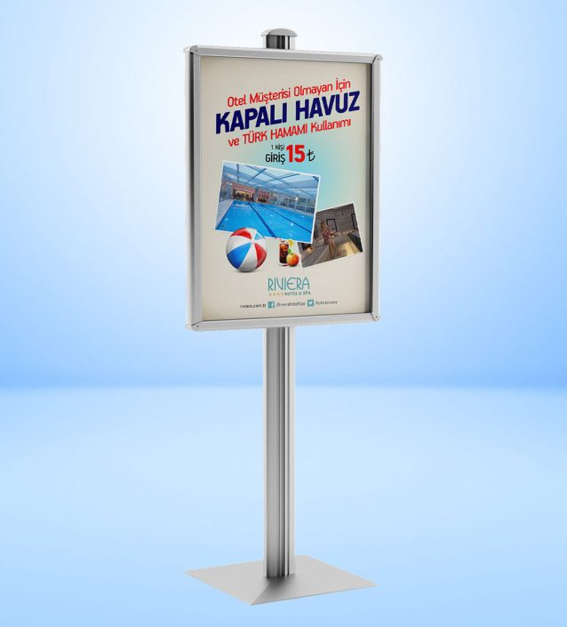 Poster Afiş Tasarımı - Broşür Dağıtım Standı - Display Tanıtım Sistemleri