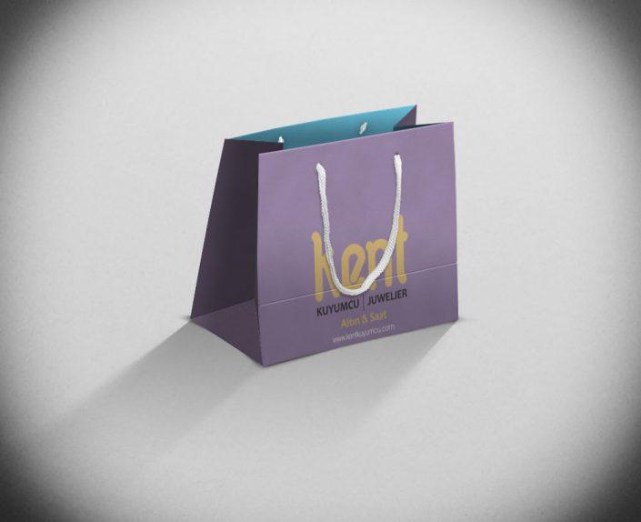 Kuyumcu Karton Çanta Tasarımı - Ali Keskin - Kent Kuyumcu