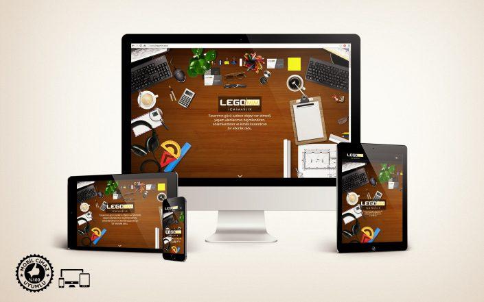 İçmimar Web Sitesi Tasarımı - Logomim İç Mimarlık