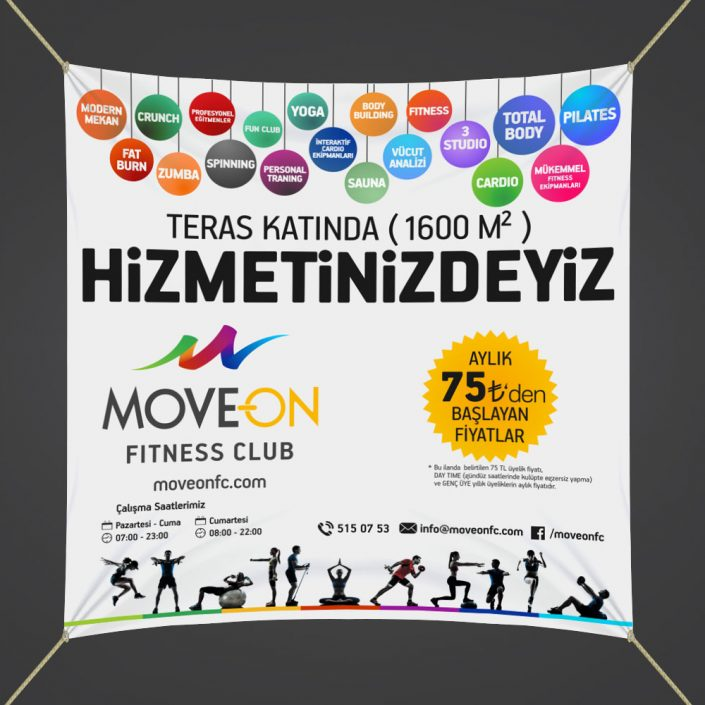 Lansman Kampanyası - Move On Fitness Club