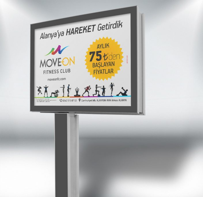 Lansman Kampanyası - Move On Fitness Club