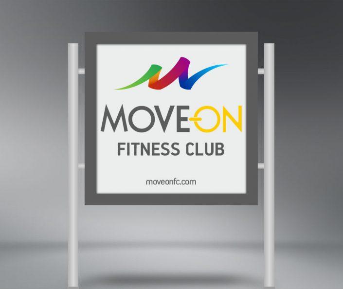 Kurumsal Kimlik Tasarımı - Move On Fitness Club