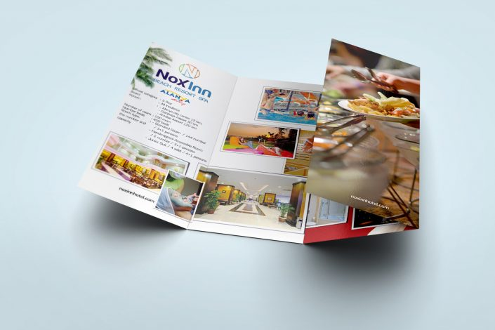 Otel Tanıtımı Broşürü - Noxinn Beach Resort Spa