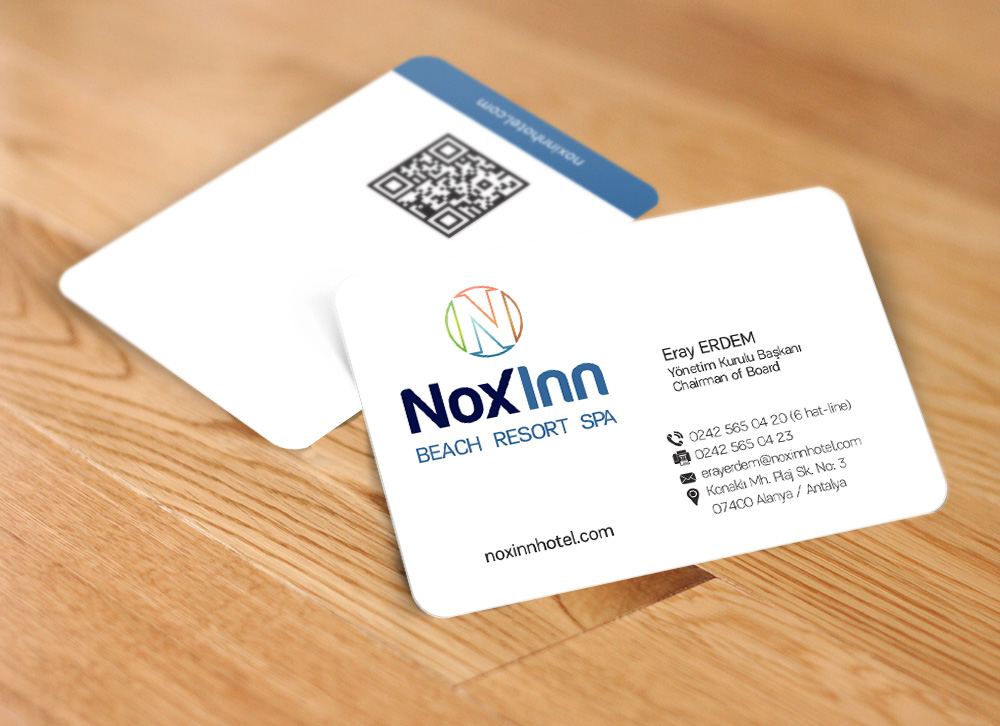 Otel Kartvizit Tasarımı - Noxinn Beach Resort Spa
