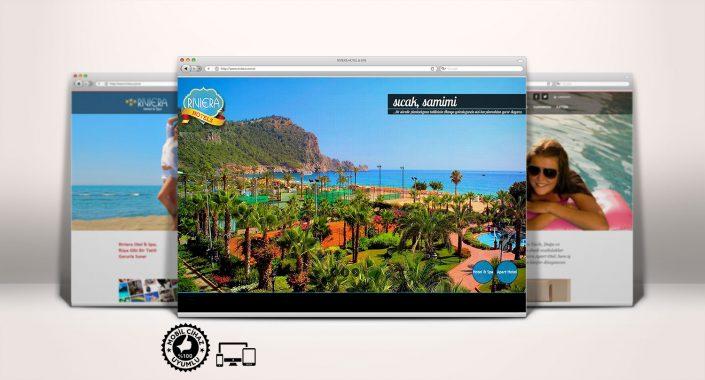 Otel Web Sitesi Tasarımı - Riviera Hotel & Spa - Riviera Apart Otel