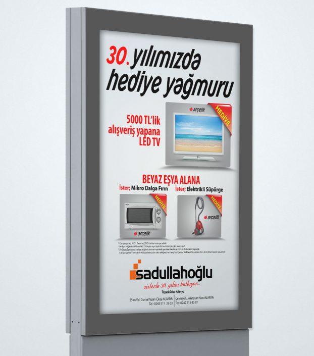 30. Yıldönümü Kampanyası - Sadullahoğlu AŞ Arçelik