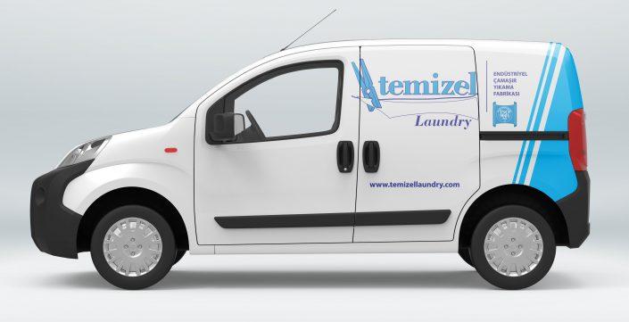 Araç Filosu Giydirme - Temizel Laundry