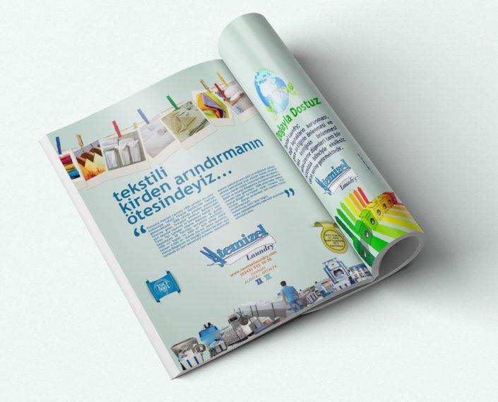 Dergi İlanı - Temizel Laundry