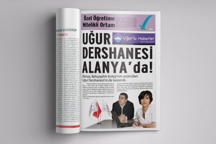 Advertorial Reklam Dergi İlanı - Bahçeşehir Uğur Eğitim Kurumları