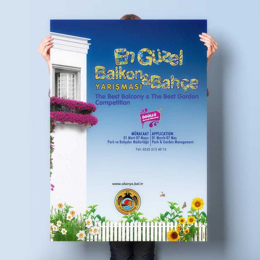Poster Afiş Tasarımı - Alanya Belediyesi