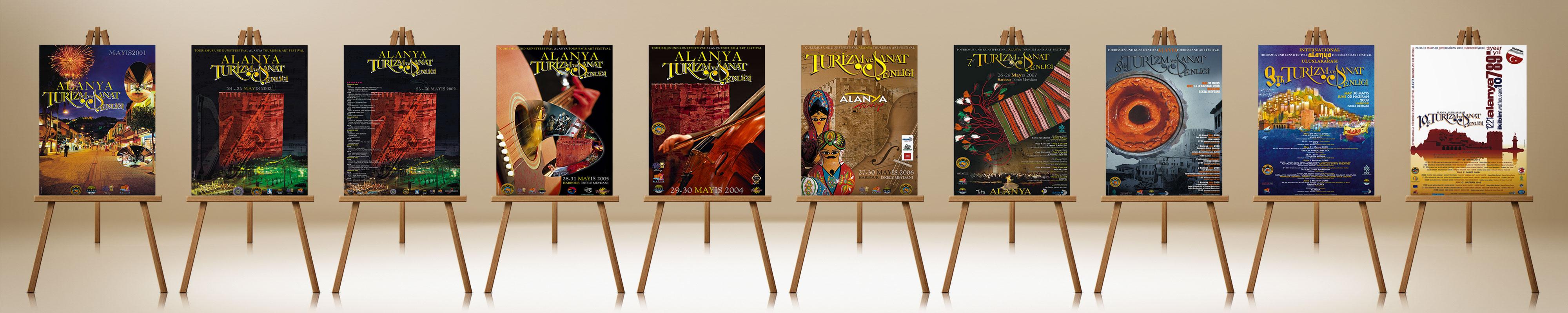 Festival Afişi Sergisi - Alanya Turizm Sanat Şenliği