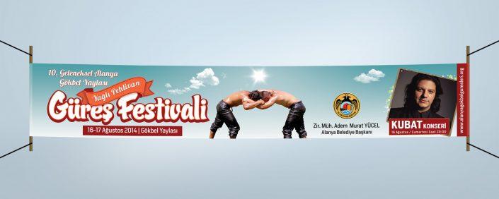 Reklam Kampanyası - Gökbel Yaylası Yağlı Pehlivan Güreş Festivali