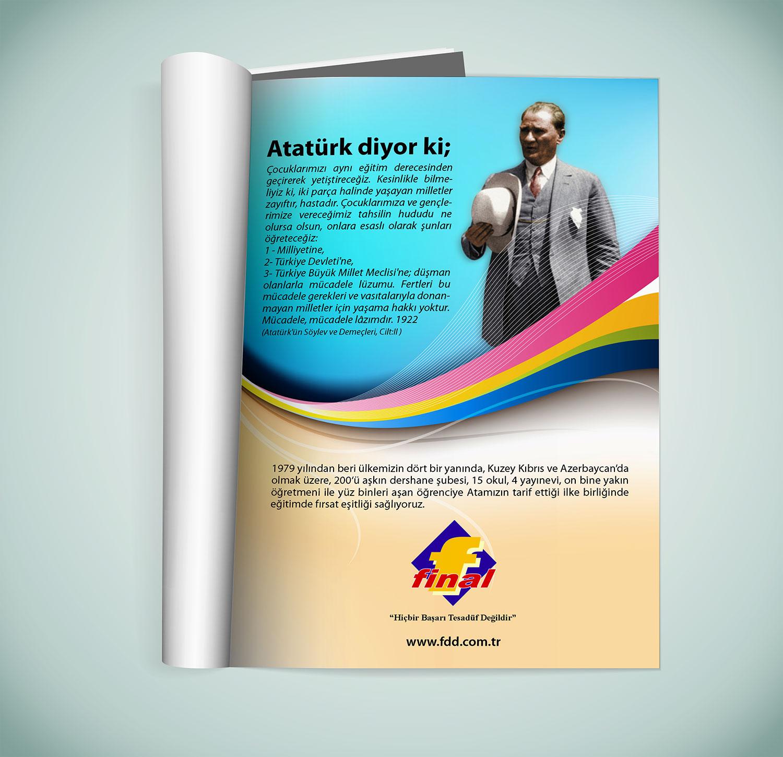 Özel Okul Dergi Reklamı - Final Eğitim