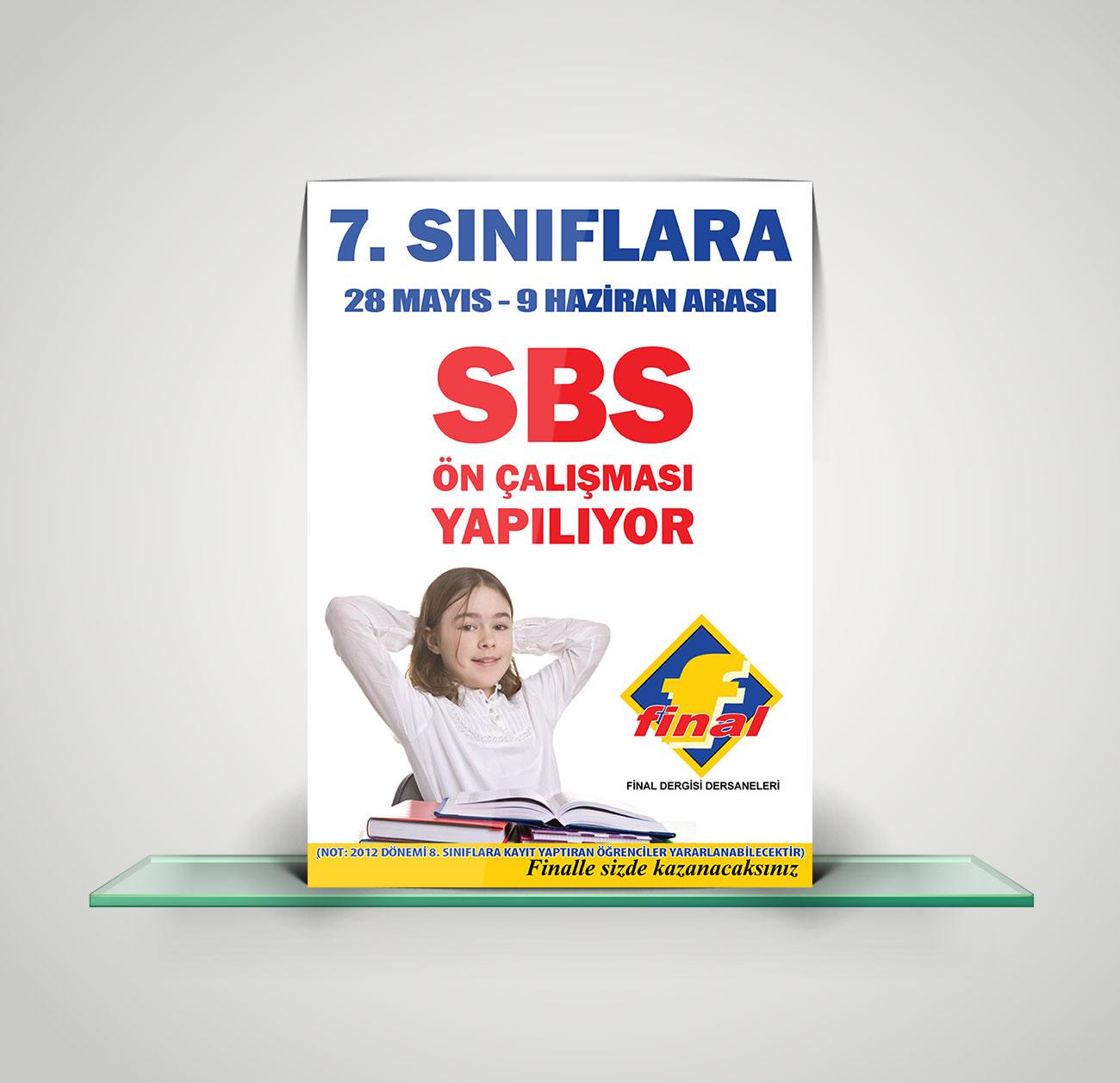 Poster Tasarımı Final Eğitim Kurumları