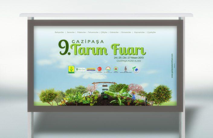 Tarım Fuarı Tanıtımı Kampanyası - Gazipaşa