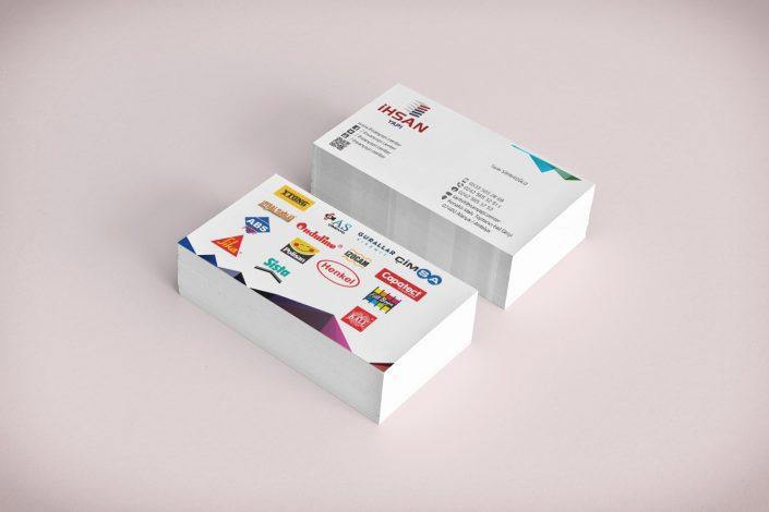 Kartvizit Tasarımı - İhsan Yapı Malzemeleri Alanya