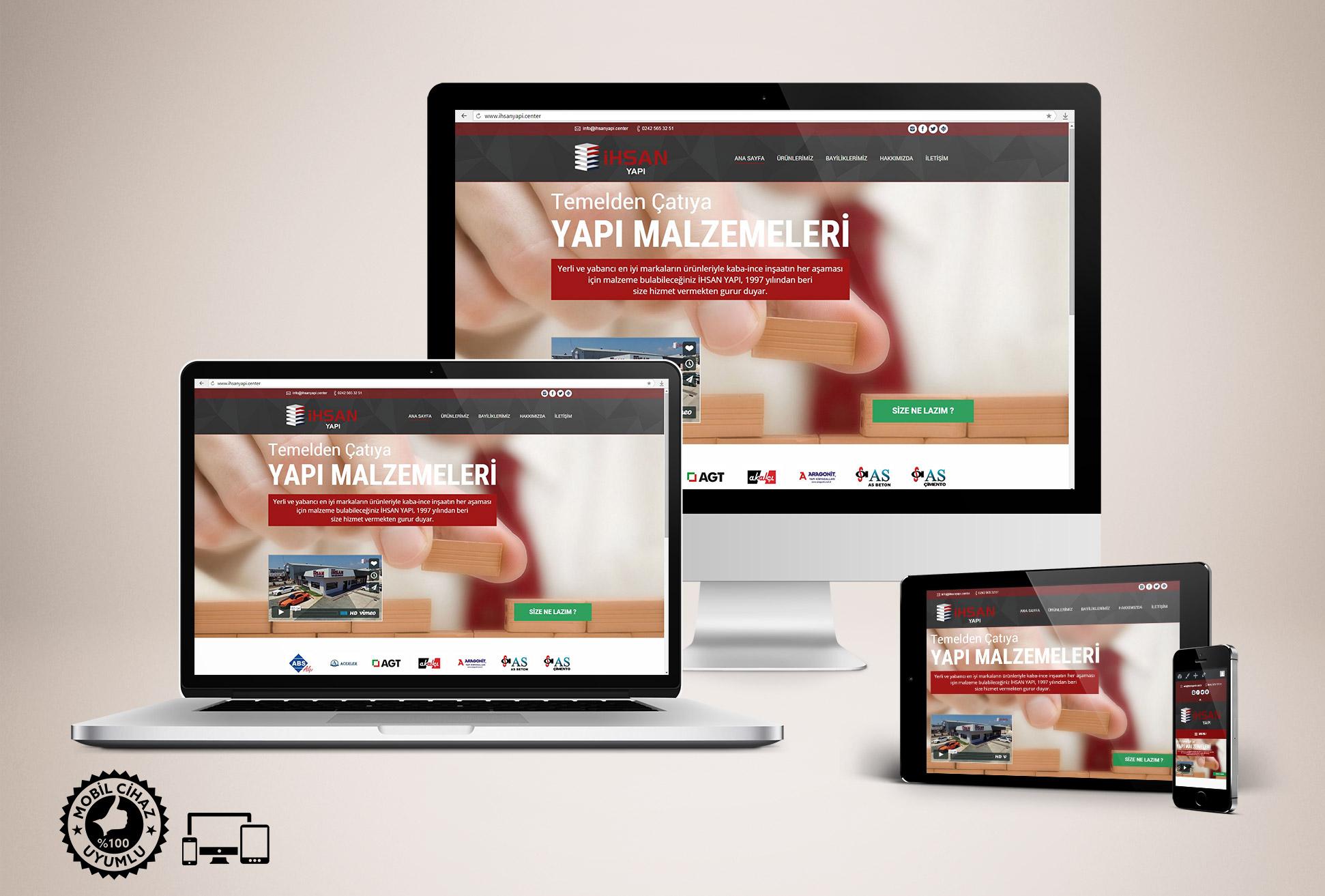 Yapı Malzemeleri Web Sitesi