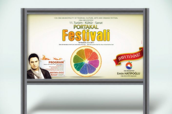 Portakal Festivali Tanıtım Kampanyası - Alanya