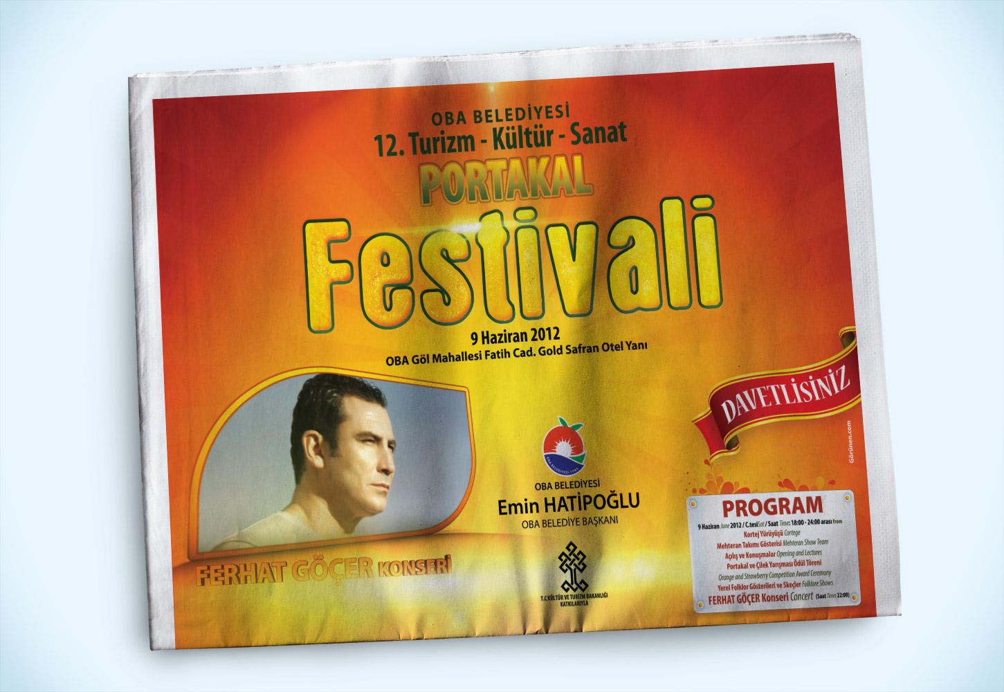 Festival Tanıtımı Kampanyası - Alanya