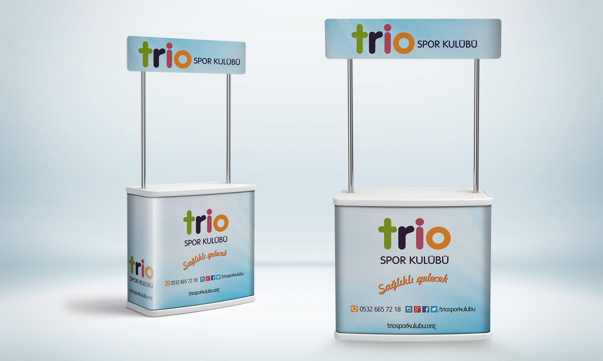 Broşür Dağıtım Standı | Trio Spor Kulübü Yüzme Kursu