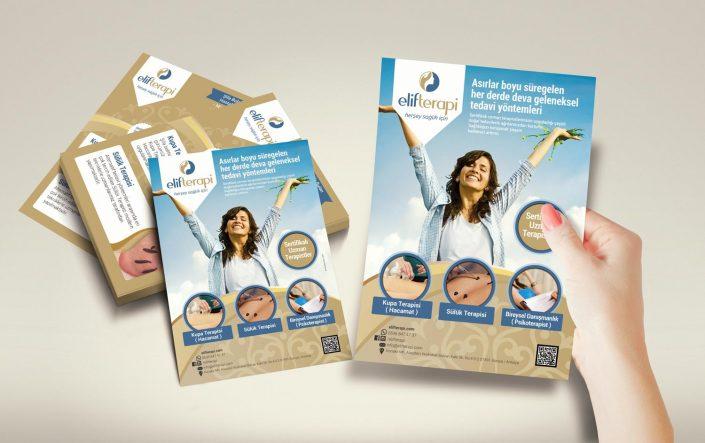 Flyer Dizaynı - Elif Terapi