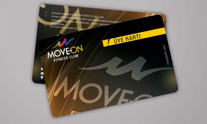 Müşteri Kartı - MOVEON Fitness Club