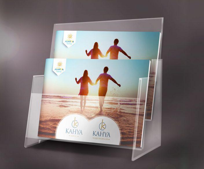 Otel Kataloğu Tasarımı, Dizaynı Kahya Hotels Alanya Antalya