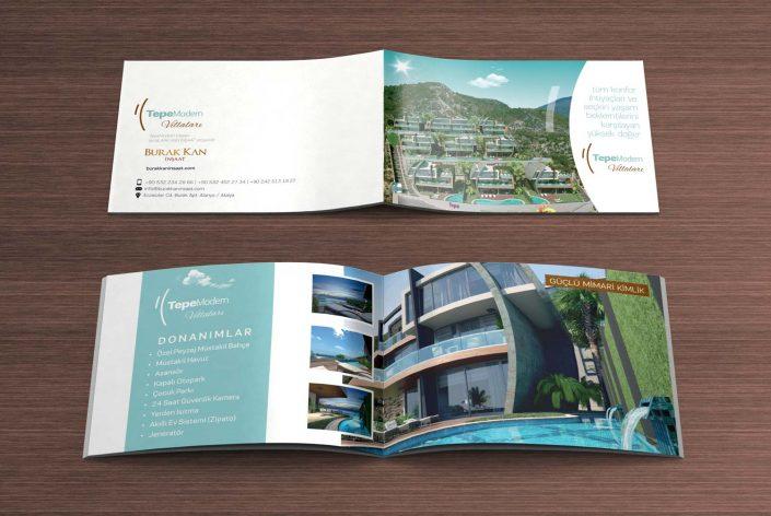 Villa Tanıtım Kataloğu - Matbaa Baskı