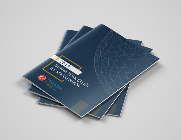 Çelik Sektörü Rapor Kitapçığı - Matbaa Baskı