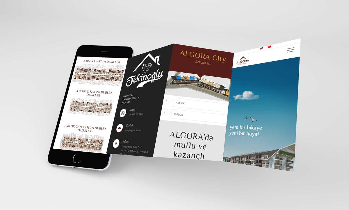 Proje Tanıtım Web Sitesi Tasarımı